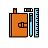 ícone - lista de materiais